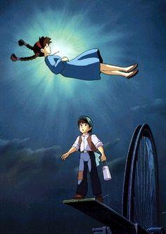 Laputa, Castle in the Sky. Best Studio Ghibli movie ever.