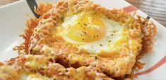 Mega szuper reggeli tojásimádóknak, ilyen finomat még nem ettél! Breakfast Smoothies With Oats, Healthy Breakfast Muffins, Best Breakfast, Breakfast Crockpot Recipes, Breakfast Casserole Sausage, Healthy Crockpot Recipes, Pancake Bites, Oat Smoothie, Egg Toast