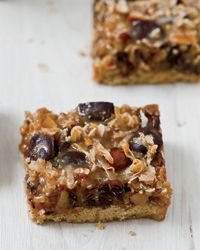 Dulce de Leche, Coconut and Chocolate Chip Magic Bars.