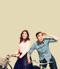 Sheldon and Amy Farrah Fowler