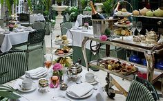 I had the pleasure of taking afternoon tea here when I visited England with my friend, Sara. The Chesterfield hotel afternoon tea