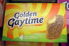 Golden Gaytime is an iconic ice-cream in Australia
