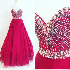 Charming Prom Dress, Sexy Prom Dresses, Tulle Evening