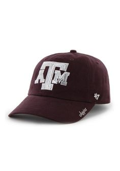 best service da86f 9c1da Texas A M Aggies Maroon Sparkle Womens Adjustable Hat - 4806773