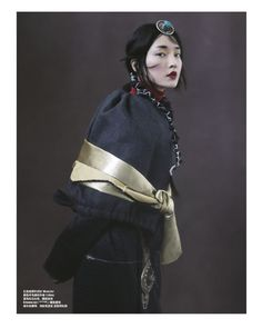 Du Juan Graces 'Whisper of Tibet' Lensed By Yin Chao For Harper's Bazaar China — Anne of Carversville Oriental Fashion, Ethnic Fashion, Asian Fashion, Fashion Men, Fashion Trends, Poses, Image Mode, Jeanne Lanvin, Mode Editorials