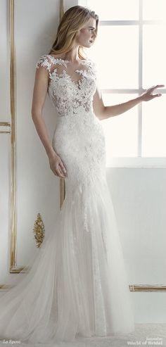 La Sposa 2018 sensational low-waist mermaid wedding dress