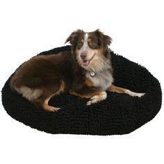 Give your pet a new Wags Pet Bed. This dirt- and chew-resistant bean bag bed will give them a comfy place to rest for a long time, so they'll feel like royalty without covering your bed in fur. This medium bed is recommended for pets up to 15 lbs.