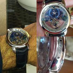 #limited 2/99 #ulyssenardin #royalbluetourbillon #tourbillon  #luxurywatch #luxurylife by martin.8888