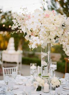 California Wedding: A Stunning White Affair - MODwedding
