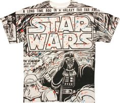 Star Wars Page War Adult T-shirt (X-Large)