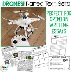 This pack about drones is perfect! Just what my students need to be better writers.