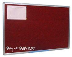 Bảng văn phòng BAVICO: Bảng văn phòng - Bảng ghim vải nỉ