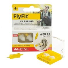 At last ... an earplug that can help take away much of the pain and distress caused by flying. #zoomhealth #flyfit