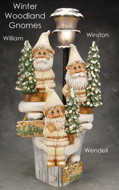 Winter gnomes....Love!!