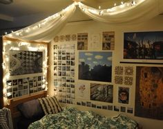 dorm [trends]- I imagine the other side of this room to be dirty and barren while at the same time a mess.