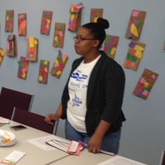 Doing professional development for parents at The Early Learning Hub.