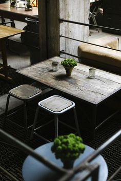"""BBC Boracay says:""""Tables and chairs..Rustic chic not only for an new coffee shop..."""""""