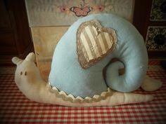 Lumaca Tilda con lavanda Tilda's snail with lavander