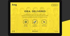 AREG — Website Design for Hardware Developers on Behance