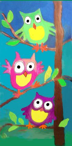 Owlies Three....