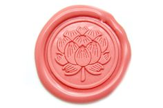 Lotus Wax Seal Stamp, Backtozero - 1