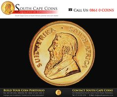 These were the first Kruger Rands. They were struck at a ceremony which took place at the South African Mint in July 1967. The busts of the 1967 mintage were plain, unfrosted or glossy. Intended for South African collectors, only 10 000 of these coins were struck. #TBT #SouthCapeCoins Coin Dealers, Gold Money, Gold And Silver Coins, Rare Coins, Coin Collecting, Personalized Items, History, Freedom, Mint