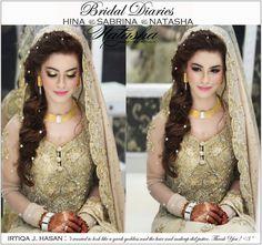 Walima Bride by Natasha Salon. Pinned by Zartashia