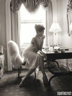 Vogue Tallas extras: Tara Lynn, Candice Huffine y Robyn Lawley para el fotógrafo Steven Meisel.