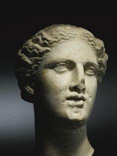 a greek marble head of a goddess     heads     sotheby's l16260lot8zw3sen