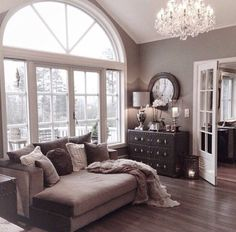 Love the style needs color Living Room