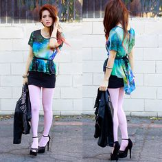 Let the cosmic power compel you (by Anna Le) http://lookbook.nu/look/4471507-let-the-cosmic-power-compel-you