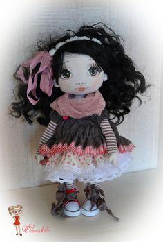 Renata. Muñeca OOAK. Muñeca de colección. Muñeca de por ElenaDolls