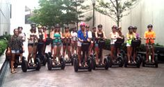 Charlotte NC Tours - Charlotte Segway Tours  Segways are goofy, sure, but I bet a Segway tour of uptown would be fun!