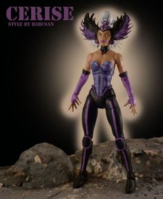 Cerise V2 (Excalibur) (Marvel Legends) Custom Action Figure