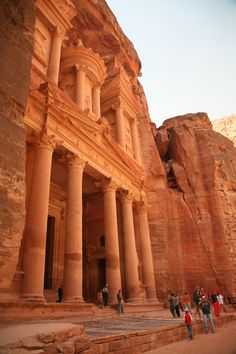 City of Petra. Jordania.