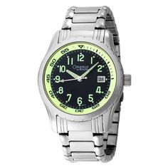Caravelle by Bulova Men's 43B115 Bracelet Stainless Steel Watch -- To view further for this item, visit the image link.