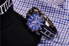 Channel your inner sports star wearing one of Citizen's most accurate watches, the Limited Edition Perpetual Chrono A-T. This is the LIMITED EDITION PERPETUAL CHRONO A-T (MODEL: AT4021-02L) $825 http://local.qoo.ly/qee/0
