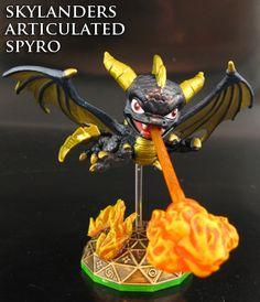 Articulated Legendary Spyro