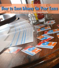 How to Save Money on Taxes - #HappyYouYear (Spons)!  Includes 10 Most Overlooked Tax Deductions! Be sure to pin now and SAVE LATER!