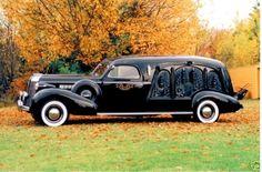 1937 Buick Carved Hearse Byzantine