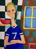 Modigliani Self Portrait