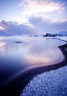 Kleifarvatn, Iceland by oskarpall