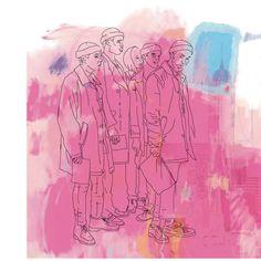 Sian Pilkington Sketchbook Inspiration, Art Sketchbook, Painting Inspiration, Art Inspo, Fashion Sketchbook, Flower Doodles, Doodle Flowers, Art For Change, Drawing Journal