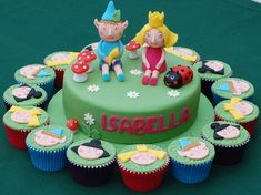 Vanilla Frost: A Ben and Holly Birthday Cake