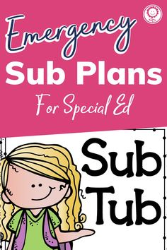 This emergency sub plan kit has everything you need to ensure your school day runs smoothly while you're gone. Planning for substitutes can be harder than just coming into work sick. However, with this set, you will have no-prep, print and go, reading, writing, math, science, and art activities that make sure your kids are still learning while you get the rest you need. #subplans #specialed School Days, Back To School, Emergency Sub Plans, 4th Grade Classroom, Art Activities, Classroom Organization, Special Education, Sick, Homeschool