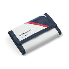 #Wallet bmw #formula 1, #white with navy,  View more on the LINK: 	http://www.zeppy.io/product/gb/2/131720896596/