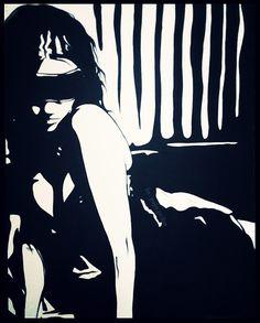 #artist #work #paint #fanart #traditional #drawings #acrylicpainting #acrylic #acrylicpaint  #sketchbook #sketching #sketchbookpro #sketches #fanart #tattooartist #tattoodesign #tattoosketch #eroticillustration #blackandwhite #womens