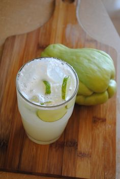 AGUA DE CHAYOTE via Sweet Life