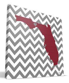 Florida State Seminoles Love Wall Art by Paulson Designs #zulily #zulilyfinds