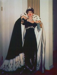 Maria Callas in the role of Floria Tosca at the Met in 1958.